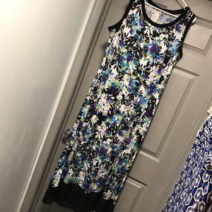 Pretty Floral Dress. 1X. Worn once